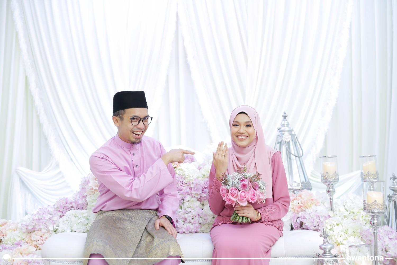 Engagement - Arfah & Amirul Nazari